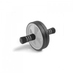 Double Abdominal Exercise Roller Wheel