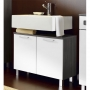 Marina Contemporary Bathroom Vanity without Wash Basin