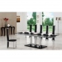 Tripod Glass Dining Table + 8 G601 Dining Chairs